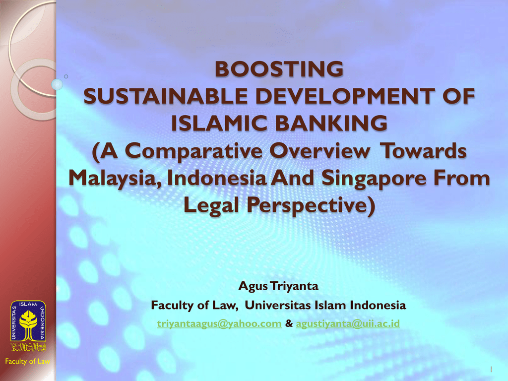 Legal framework of islamic banking in indonesia malvernweather Images