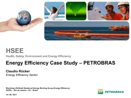 HSEE - US-Brazil Industrial Energy Efficiency Workshop