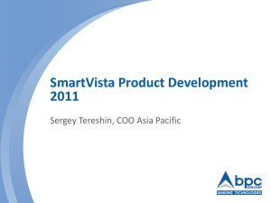 SmartVista Product Development 2011