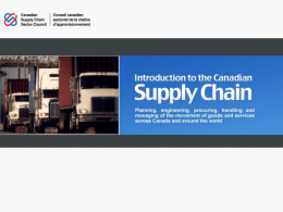 What is the Supply Chain?