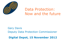 Data Protection and the Health Sector