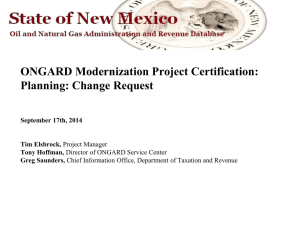 Presentation - New Mexico Department of Information Technology