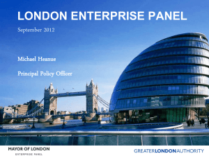 overview of the London Enterprise Panel