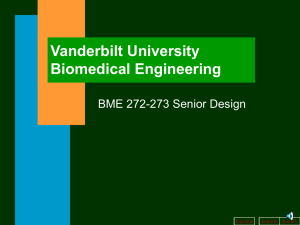Introductory Slide - Biomedical Engineering