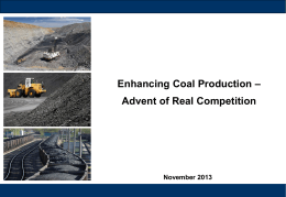 Pitfalls in Captive Coal Mine (CCM)