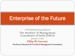 Enterprise of the Future IMCI