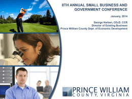 Prince William County Department of Economic Development
