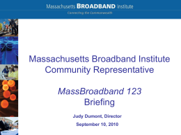 MassBroadband 123 09-10-2010 PowerPoint, 1.3MB