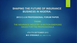 shaping the future-1 - chartered insurance institute of nigeria