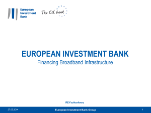 Martin Brunkhorst_Director of the European Investment Bank (EIB)