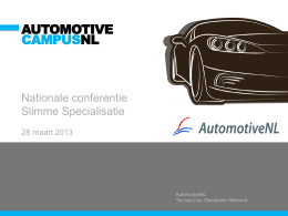 Automotive industry and Technology in The Netherlands