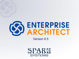 Enterprise Architect can be extended for domain