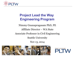 Engineering_PLTW_CC_2014 - Washington State University at