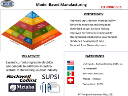9. IMS Model Based Manufacturing MTP