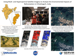 Using Hyperspectral Satellite Imagery to Analyze the Environmental