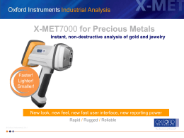 X-MET - Recycler Solutions