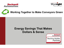Presentation  - Rockwell Automation