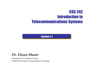 What is Communication - Comsats Institute of Information Technology