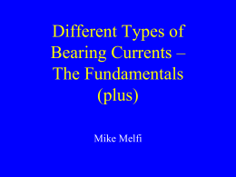 Different Types of Bearing Currents – The Fundamentals - Flow-Tech