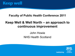Keep Well & Well North