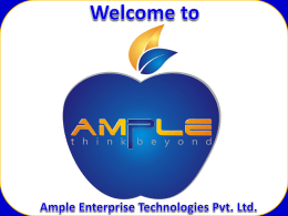Ample Tech Presentation