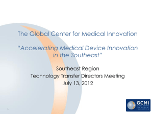 Accelerating Medical Device Innovation in the Southeast