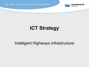Intelligent Highways Infrastructure