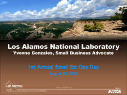 Los Alamos National Laboratory (LANL)