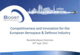 an introduction of the european aerospace industry