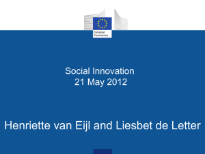 Definition of social innovation