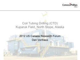 CTD - North Slope Science Initiative
