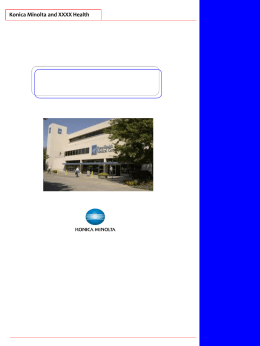 KMBS Healthcare Customizable Brochure