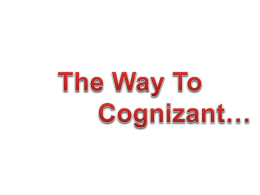 Cognizant Foundation - Chettinad College of Engineering