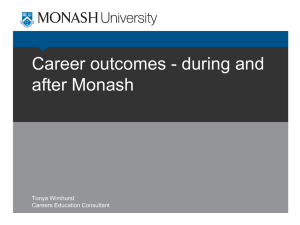 Career Gateway - Monash University