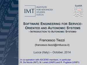 Autonomic Computing (Tiezzi)