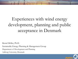 Analyses of Wind Energy Economy and the Environment