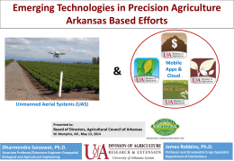 (UAS)? - Agricultural Council of Arkansas