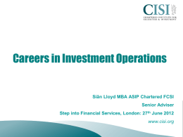 CISI - Directions Online Career Service