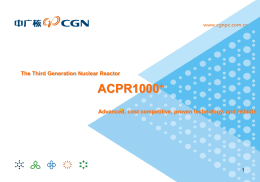 The Third Generation Nuclear Reactor ACPR1000+
