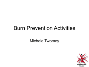 PowerPoint Presentation - Towards a paediatric burns rehabilitation