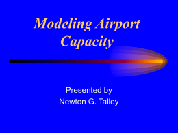 Airport Capacity and Delay