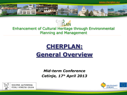 CHERPLAN: General Overview