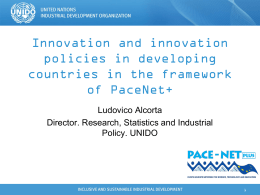PACE NET+ and Innovation in the Pacific