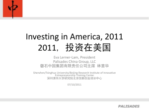 Slide 1 - The Palisades Consulting Group, Inc.