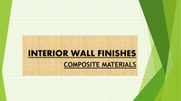 INTERIOR WALL FINISHES ppt Kagz