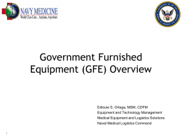M-L-1545-1645 Government Furnished Equipment