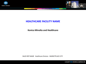 KMBS Solutions For Healthcare PPT for Customer