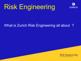 Intro to Zurich Property Risk Engineering