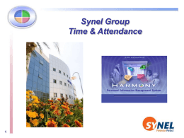 Interface with - Synel Time and Attendance Systems