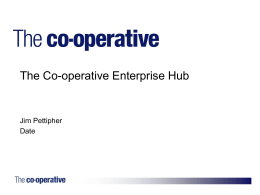 The Co-operative Enterprise Hub  - Co